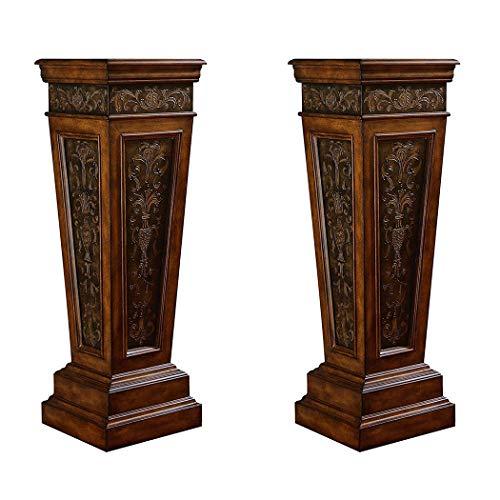 2Pcs Elegant Wedding Roman Column Set Pillars Decoration Party Flower Pot Columns Decor Adjustable Height