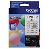 Brother Printer LC203BK High Yield Ink Cartridge, Black