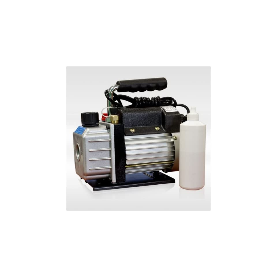 Vacuum Pump Rotary Vane 2.3 CFM 1/4 Hp R134a Hvac Tool Air Conditioning