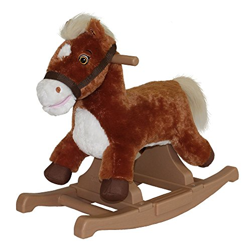 Rockin' Rider Brown Rocking Pony