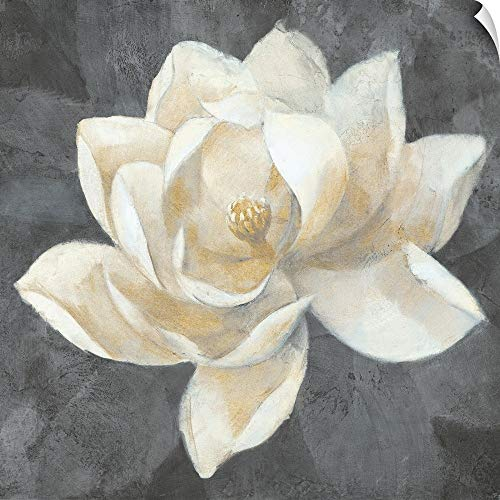 CANVAS ON DEMAND Majestic Magnolia Neutral Wall Peel Art Print, 30