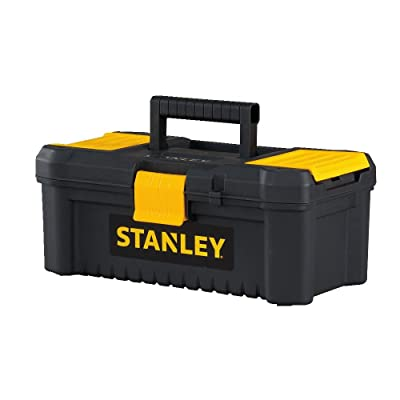 "Stanley Tools and Consumer Storage STST13331 Essential Toolbox, 12.5"", Black/Yellow"