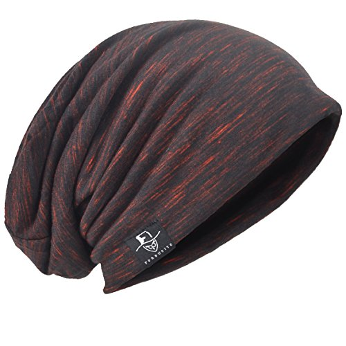 HISSHE Retro Slouchy Beanie Jersey Skull Cap Slouch Baggy Summer Hat B083