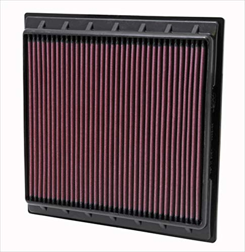 K&N engine air filter, washable and reusable:  2009-2016 Cadillac SRX and SRX II 33-2444