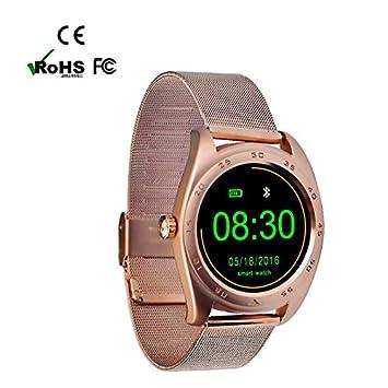Sport Smartwatches Montre Téléphone Bluetooth Montre,Compteur de Pas, Calorie, Distance, Sommeil