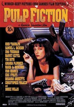 Pulp Fiction Uma Thurman Quentin Tarantino Comedy Crime Film Movie Lenticular 3D Poster 18x26 (Pulp Fiction Merchandise compare prices)