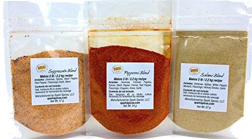 Curing Kit (UMAi Dry Sausage Spice Bundle (Pepperoni, Salami, Soppressata))