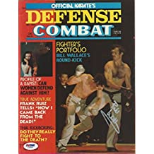 Superfoot Bill Wallace Signed 1975 Karate Defense Combat Magazine COA - PSA/DNA Certified - Autographed UFC Magazines