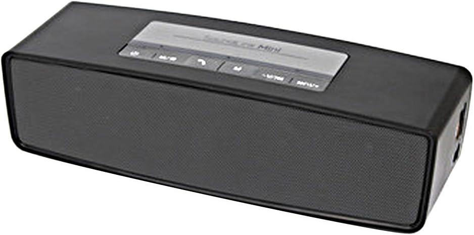 Altavoz Altavoces Parlantes 3d Surround Bluetooth HiFi Caixa de Som Soporte tarjeta SD negro: Amazon.es: Electrónica