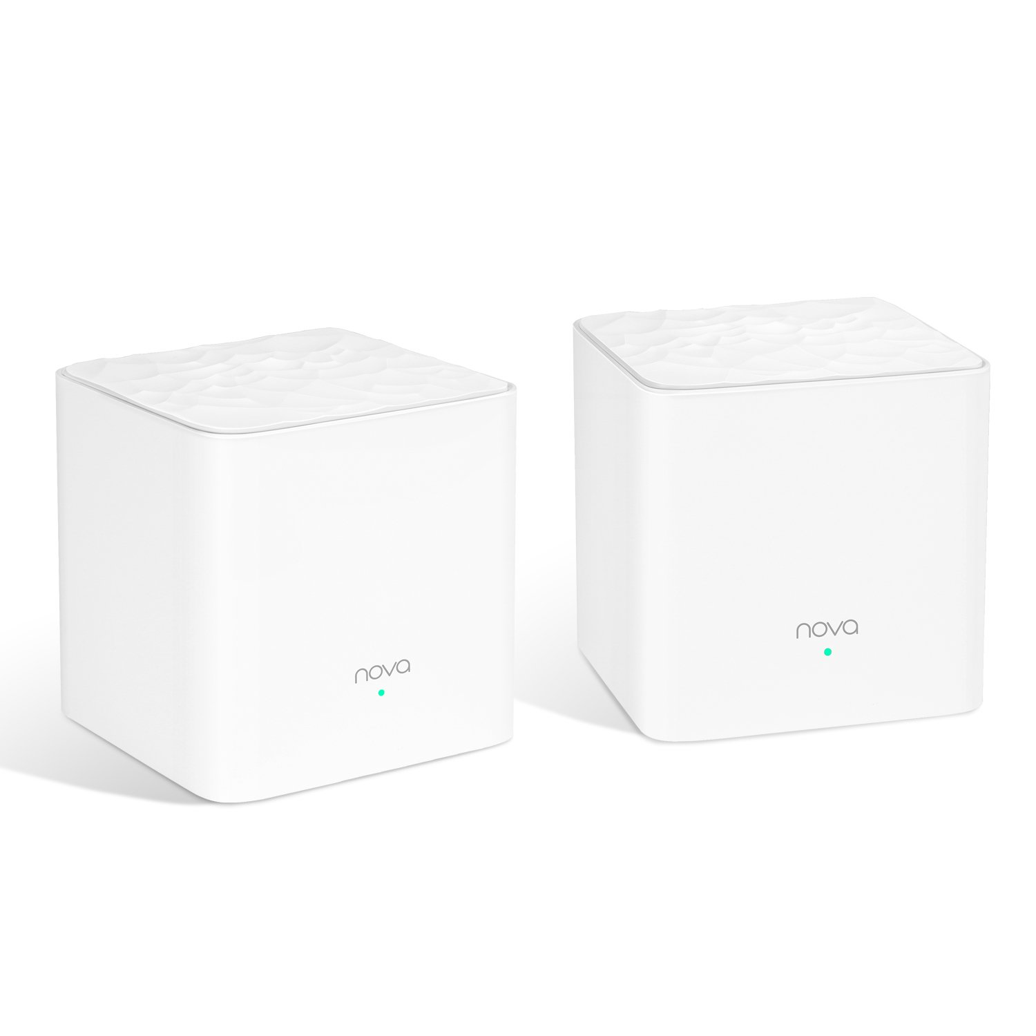 Tenda Nova MW3(2-Pack) Whole Home Mesh WiFi System Coverage up to 3,000 sq. ft, Plug and Play, Works with Alexa,Parental Controls, Router Replacement.