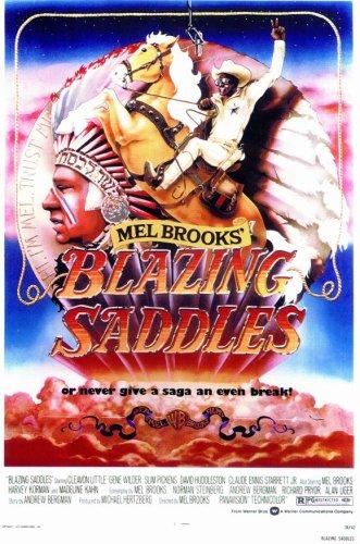 Blazing Saddles (1974) - 11 x 17  - Style A