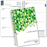 Dated Student Planner for High School or College: August - July Dated for 2019-2020 (HS-03)