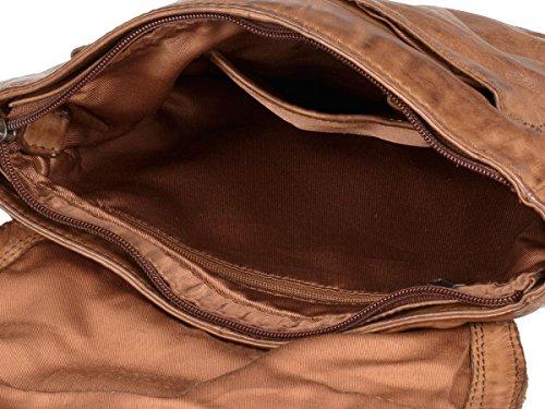 Marrón BEAR DESIGN mujer para hombro Bolso al marrón nTFqYTHwcr