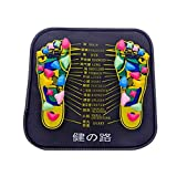 LiPing Reflexology Walk Stone Foot Leg Pain Relieve Relief Walk Massager Mat Foot Care Protector (A)