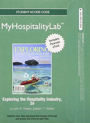 exploring the hospitality industry Read and download exploring the hospitality industry 2nd edition free ebooks in pdf format exploring art with art authority ocean life expeditions and essays exploring.