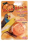 Living World Mineral Block, Orange (for Parakeets), 1 Ounce, My Pet Supplies
