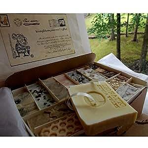 Artisan All Natural - Wonderful Twelve Piece Gentleman's Handmade Soap Bar Gift Set
