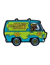 Scooby-Doo Mystery Machine Patch Iron on Applique Hanna Barbera Alternative Clothing
