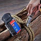 WORKPRO Folding Utility Knife Wood Handle Heavy