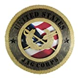 JAG Corps Laser Cut Military Wall Plaque with