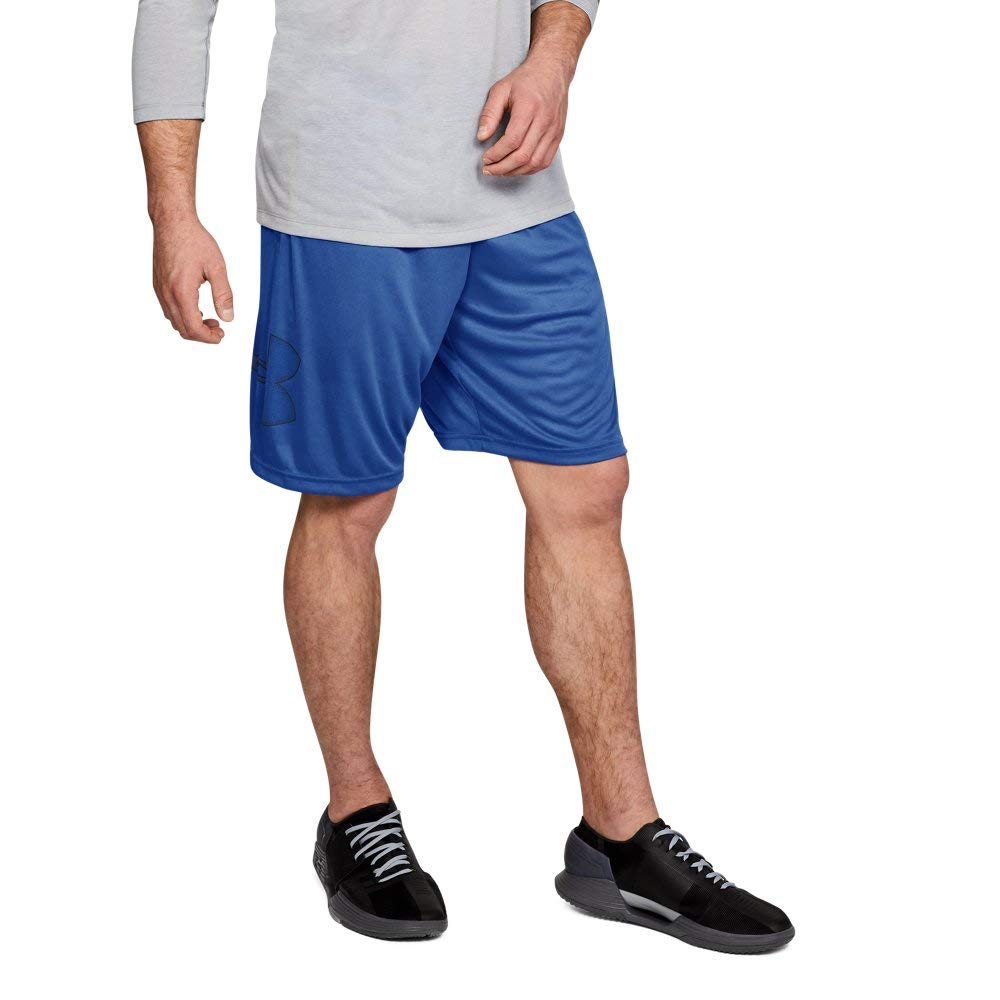 Under Armour mens Tech Graphic Shorts , Jupiter Blue (584)/Academy, Small