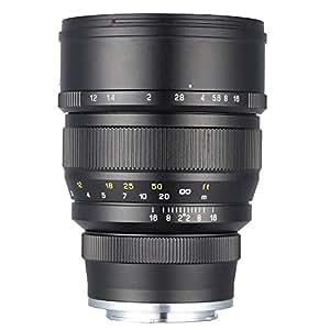 Mitakon Zhongyi 85mm f/1.2 Speedmaster Camera Lens For Sony NEX FE E Mount