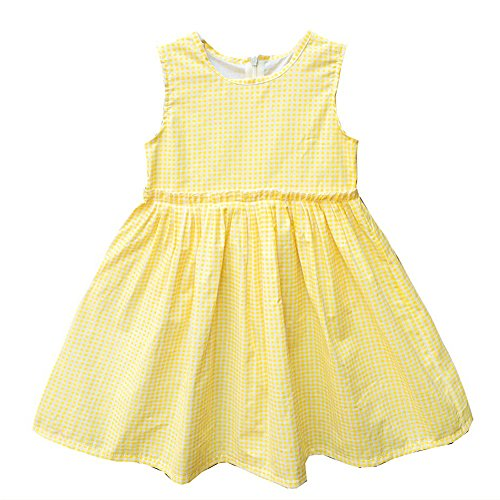 Sunling Daily Tunic Dresses For Girls Party Summer Casual Soft Plaid Dress...