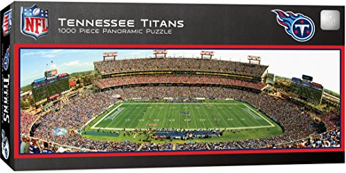 MasterPieces NFL Tennessee Titans 1000 Piece Stadium Panoramic Jigsaw Puzzle