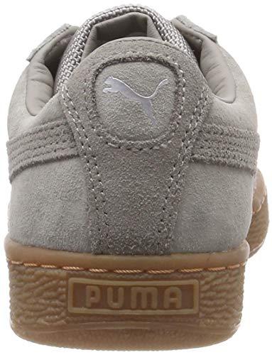 Puma Skin puma Zapatillas Weatherproof Unisex Silver Basket 06 gum Adulto Classic Gris elephant rWzHrn8