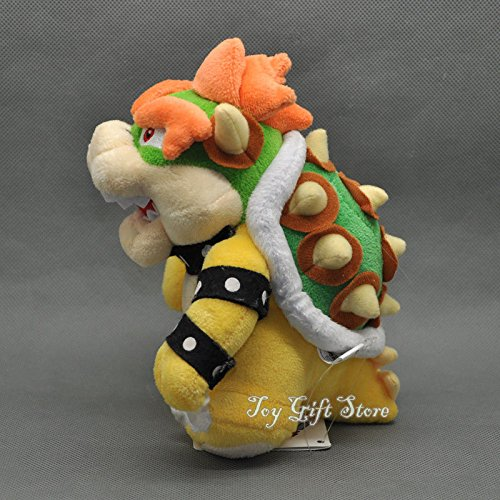 New Super Mario Bros. Plush Doll Figure Bowser 6.5
