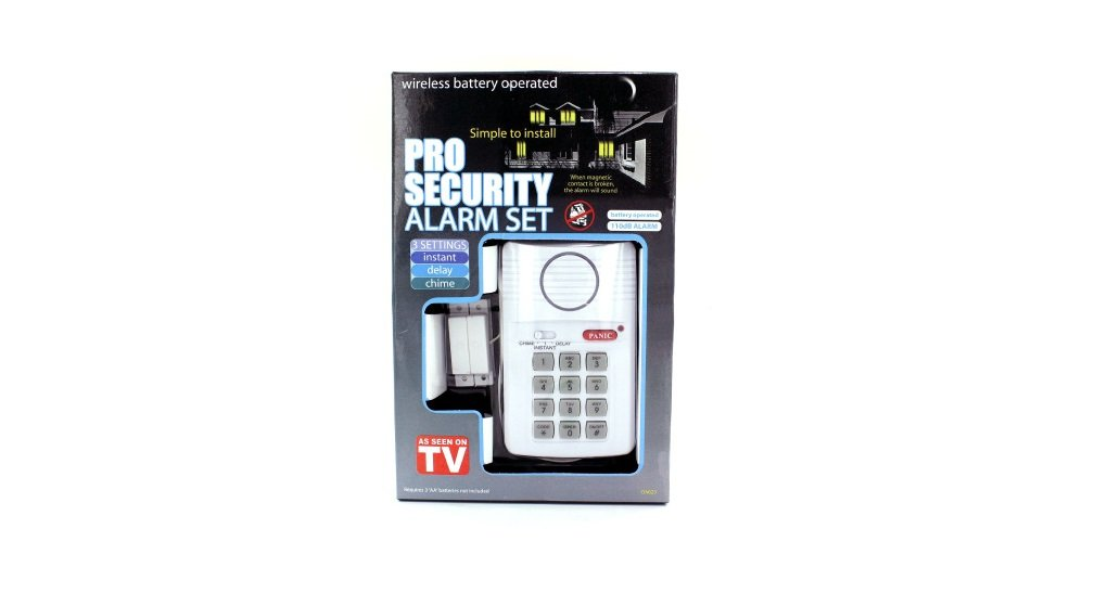 Professional Security Alarm Set