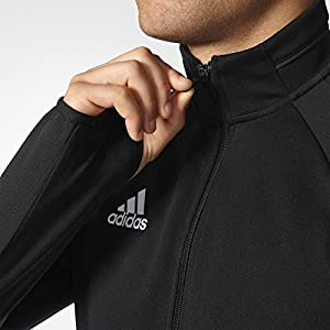 adidas Mens Tiro 17 Training Jacket Black/White L