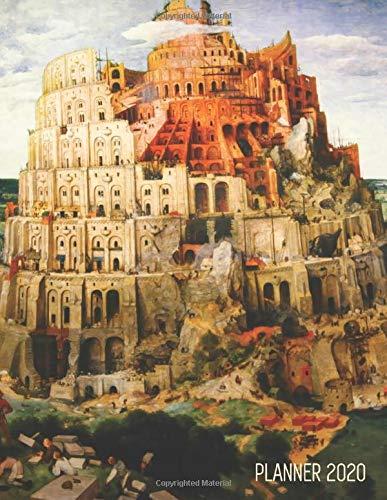 Babel Halloween 2020 Amazon.com: Tower of Babel Planner 2020: Pieter Bruegel the Elder