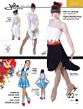 Jalie Figure Skating Dress with Skate Boot Cover Costume Sewing Pattern 2917