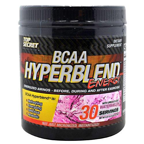 Top Secret Nutrition Bcaa Hyper mélange énergétique supplément minéral, pastèque, livre 0,37