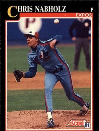 1991 Chris Nabholz Baseball Card