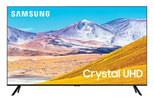 🥇 Samsung 85-inch Class Crystal UHD TU-8000 Series – 4K UHD HDR Smart TV with Alexa Built-in