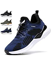 90b5ffc3b WETIKE Kids Shoes Boys Girls Sneakers Running Tennis Wrestling Athletic Gym  Shoes Slip-on Soft