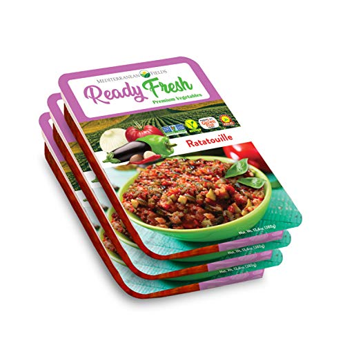 Ready Fresh Packaged Meals, Mediterranean Ratatouille - 3 Pack