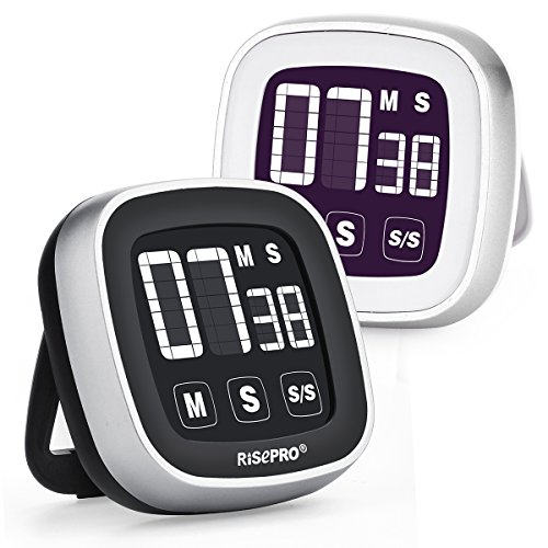 kitchen-timer-risepro-touchscreen-kitchen-cooking-timer-2-pack-white-black-with-loud-alarm-count-dow