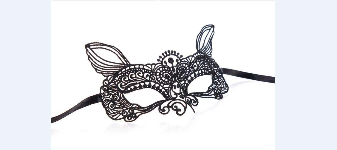 Amazon.com : 1PCS Black Women Sexy Lace Eye Mask Party Masks For Masquerade Halloween Venetian Costumes Carnival Mask For Anonymous Mardi 11 Genius : Beauty