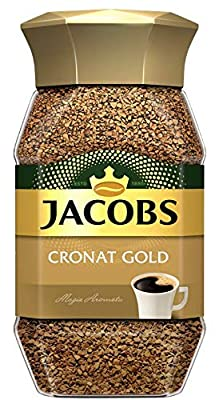 Jacobs Cronat Gold Instant Coffee 200 Gram / 7.05 Ounce (Pack of 2) by Jacob's Coffee