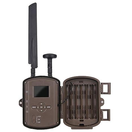 Caza cámara vida salvaje Trailer cámara GPS HD cámara vigilancia infrarrojos exterior bosque caza cámara exterior