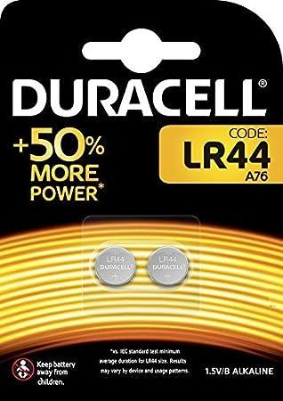Duracell 10dulr44 2 A76 1 5v Knopfzelle Elektronik