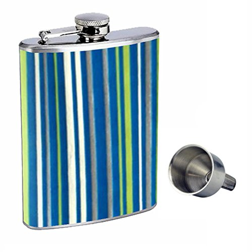 1960s Or 70s Mod Wallpaper 104 Perfection In Style 8oz Stainless Steel Whiskey Flask with Free Funnel D-281 70s Mod Wallpaper