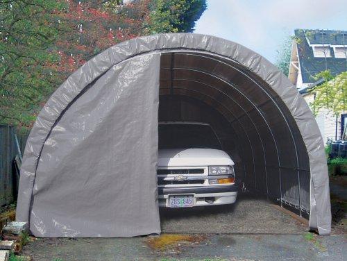 Lawn Mower Shelter : Instant storage garage solutions lawn garden