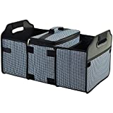 Picnic at Ascot Trunk Organizer and Cooler set -Houndstooth