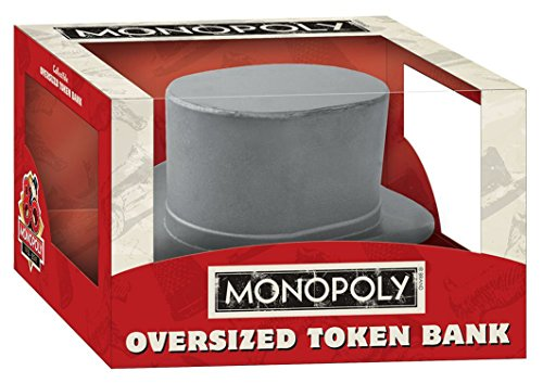 Monopoly Bank (USAopoly Monopoly: Oversized Hat Token Bank)