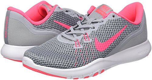 Pink Grey Multicolor wolf Zapatillas Running stealth Para Mujer Nike Trainer De Flex 7 racer qT7FUp4