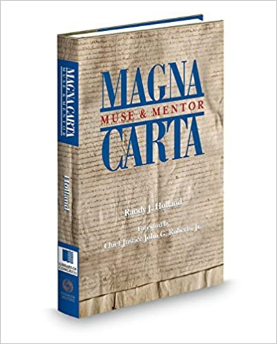 Magna Carta: Muse & Mentor by Edited by Randy J. Holland (2014-10-29)
